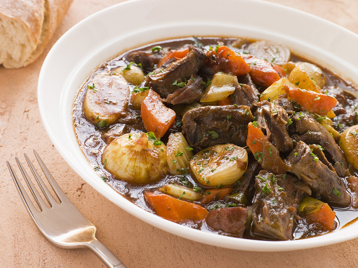 Classic American Beef Stew: Better than Ever Cooked in Clay!
