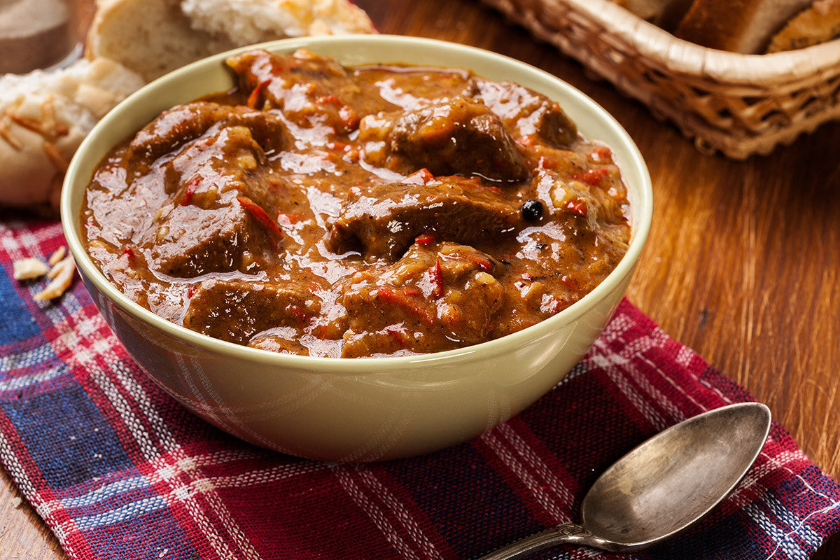 Soup Sundays Pepper Beef Stew: Delicious and Easy with VitaClay!