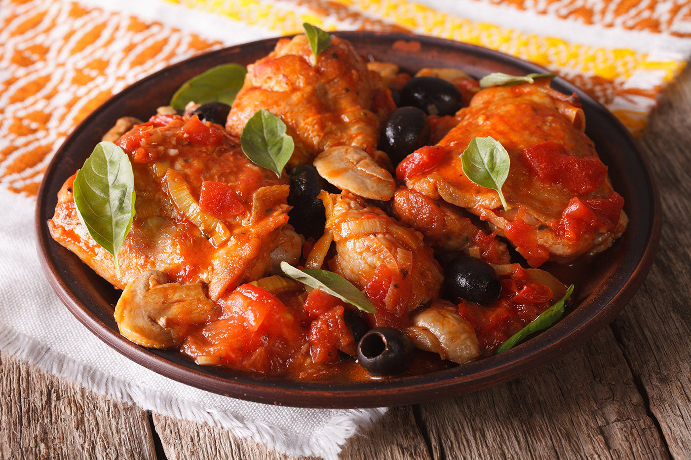 Rustic Chicken Cacciatore: Your Authentic One-Pot Stop in Clay!