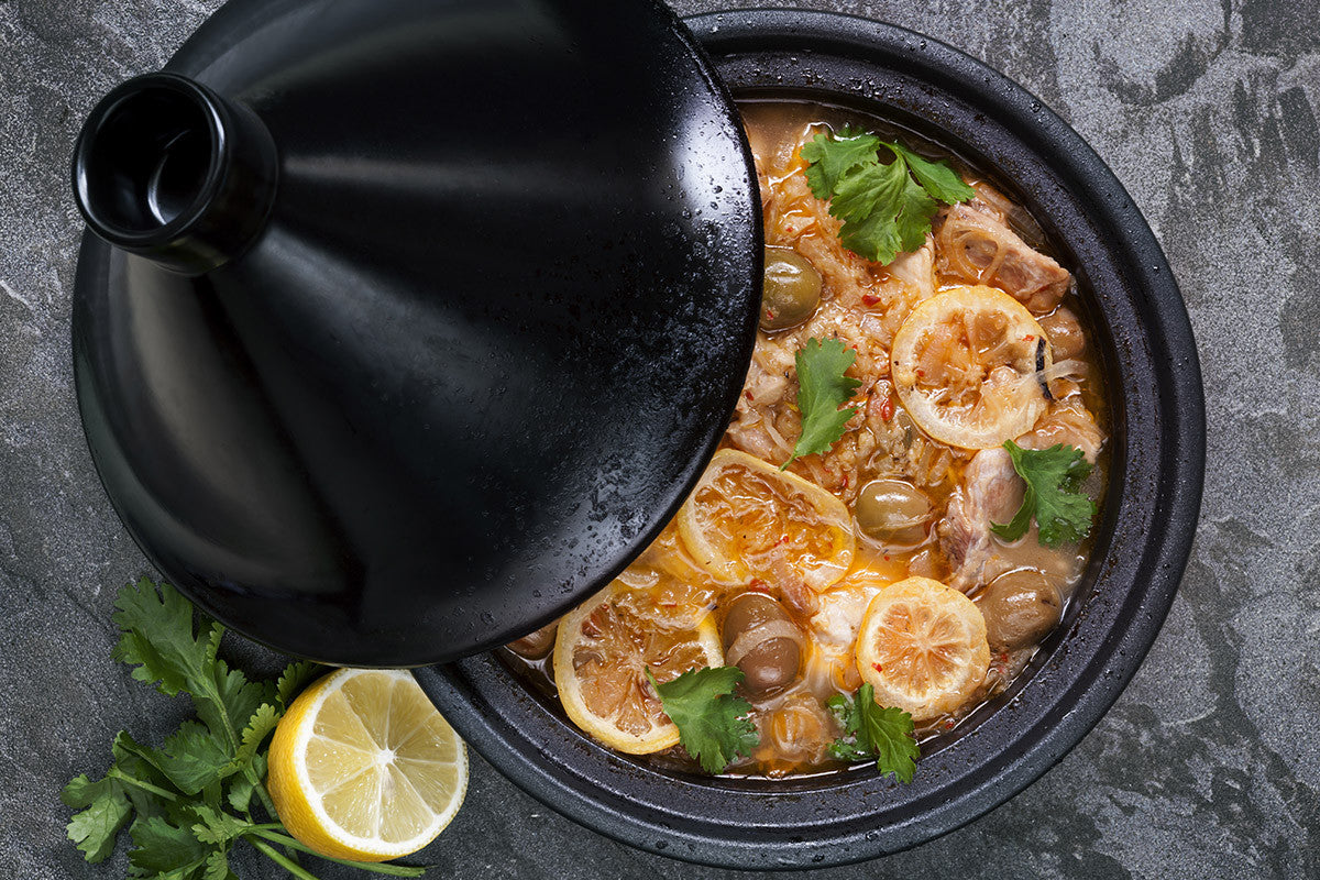 Slow Cooker Chicken Tagine Recipe made for Vitaclay