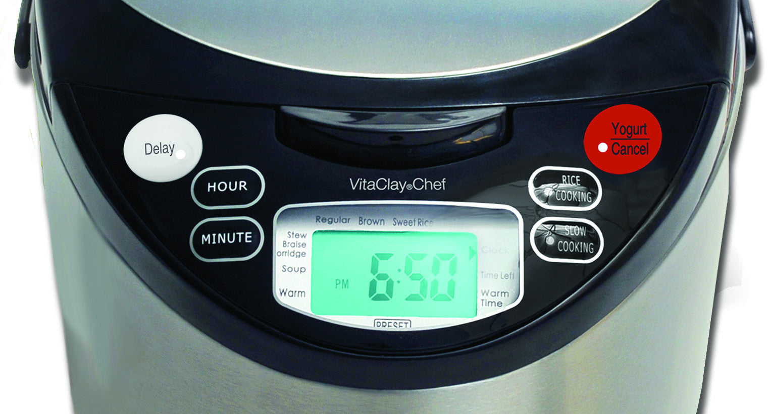 Setting the Delay Cooking Timer on the (Oval) VitaClay Multi-Cooker