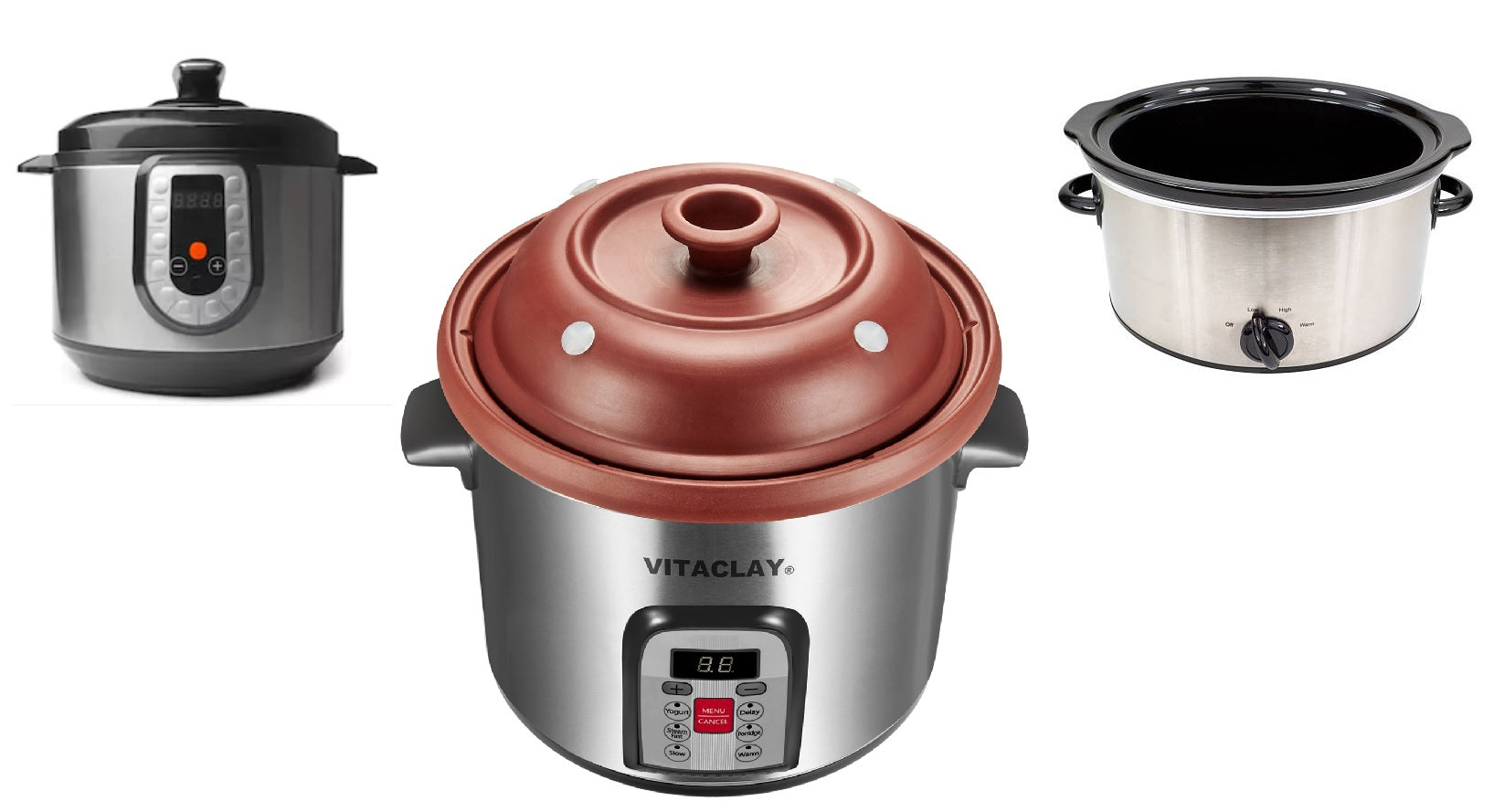VITACLAY VS. INSTANT POT (PRESSURE COOKER) VS. CROCK POT (SLOW COOKER)? Part II