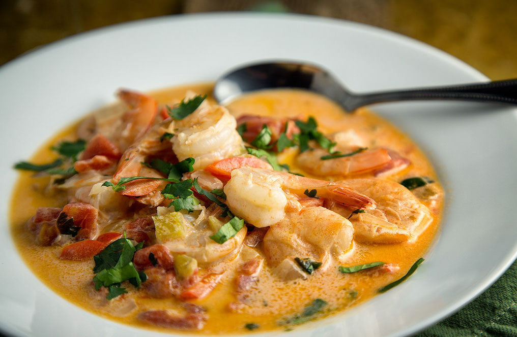 Soup Sundays: Brazilian Coconut Shrimp Stew - Magnificent in Clay
