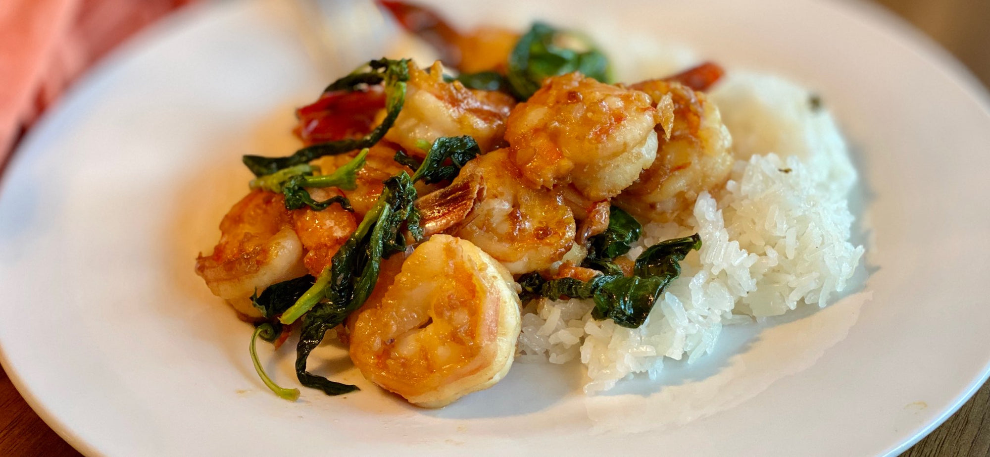Tasty Lemon Basil Shrimp