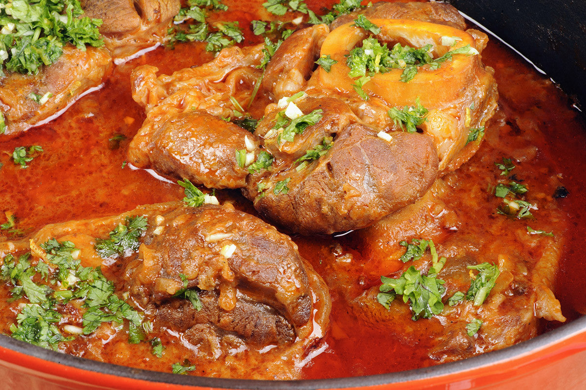 Slow Cooked Ossobuco with Lemon Gremolata Recipe for Vitaclay slow cooker