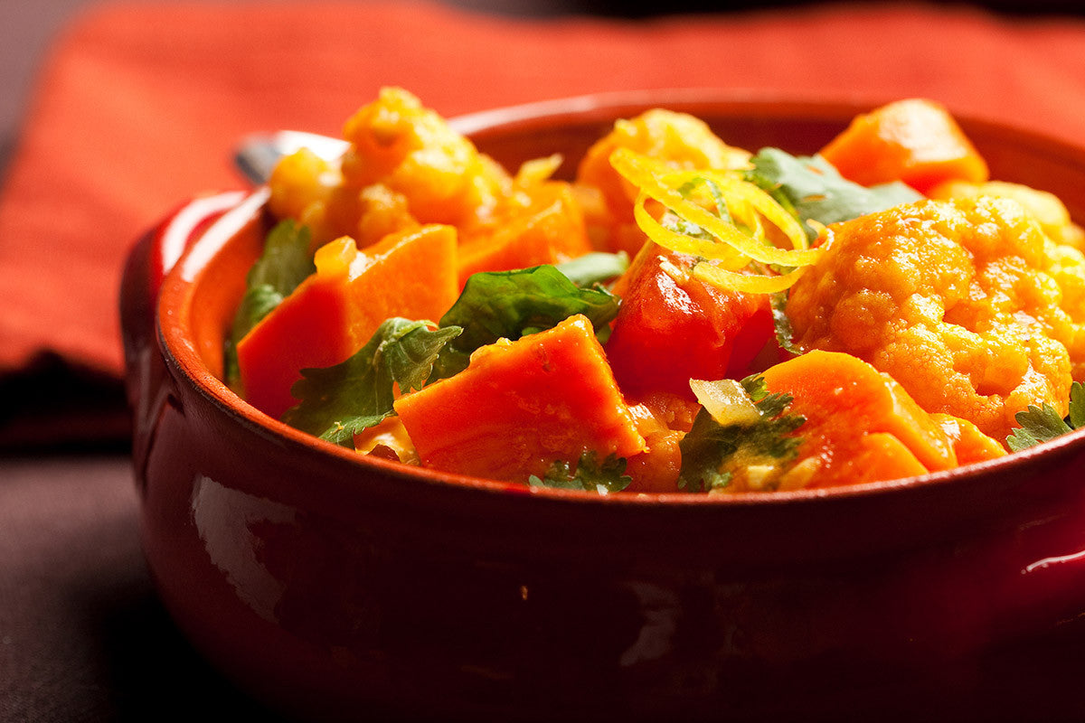 Slow Cooker Delightful Indian Coconut Vegetarian Curry Recipe