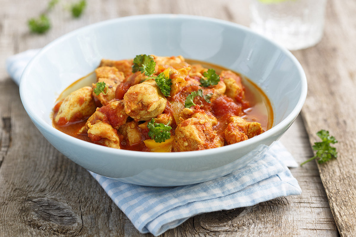 Slow cooker indian chicken stew recipe vitaclay chef slow cooker indian chicken stew recipe forumfinder Image collections