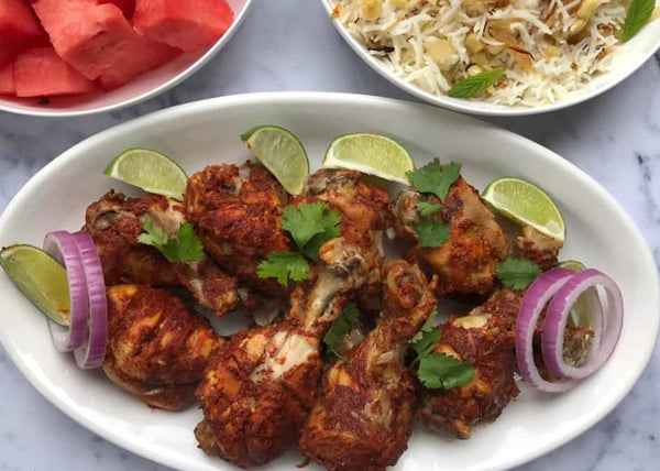 Tandoori Chicken in Clay