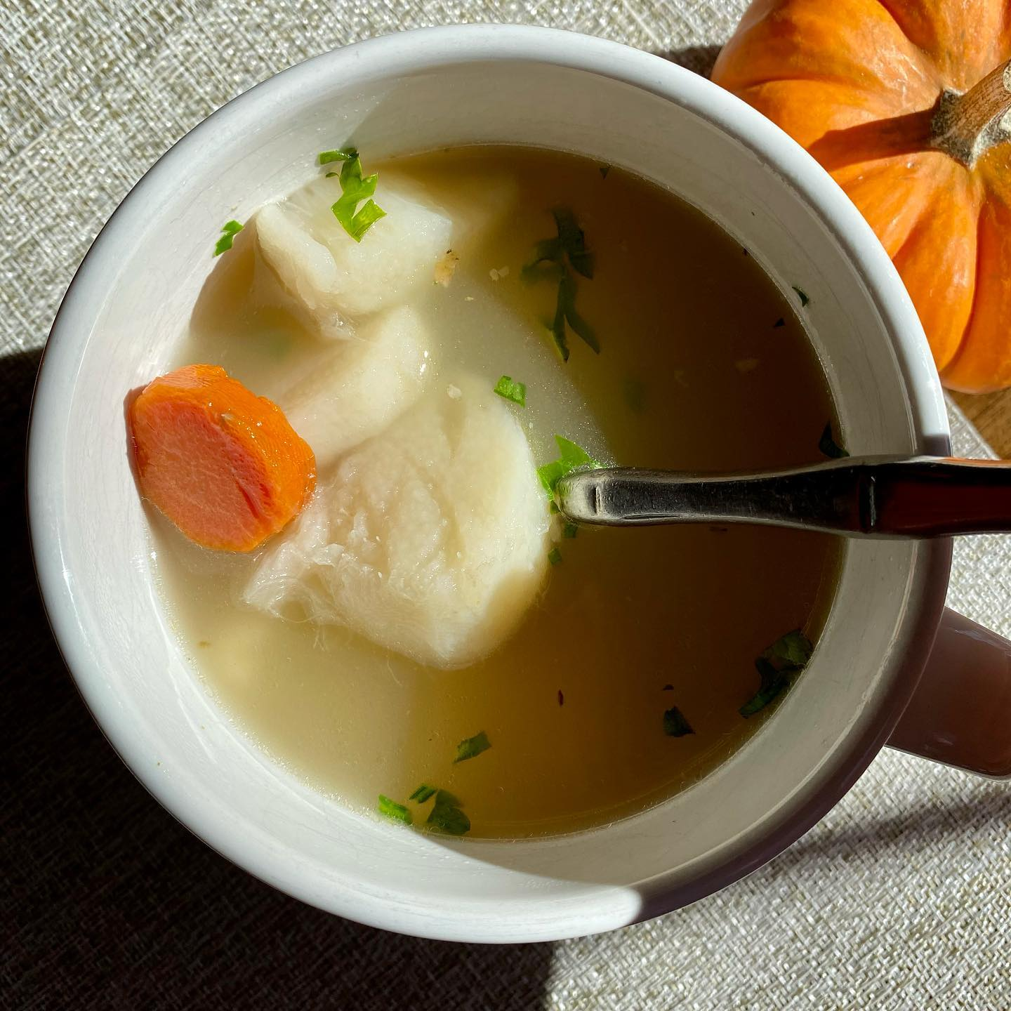Turkey Bone Broth With Wild Yams