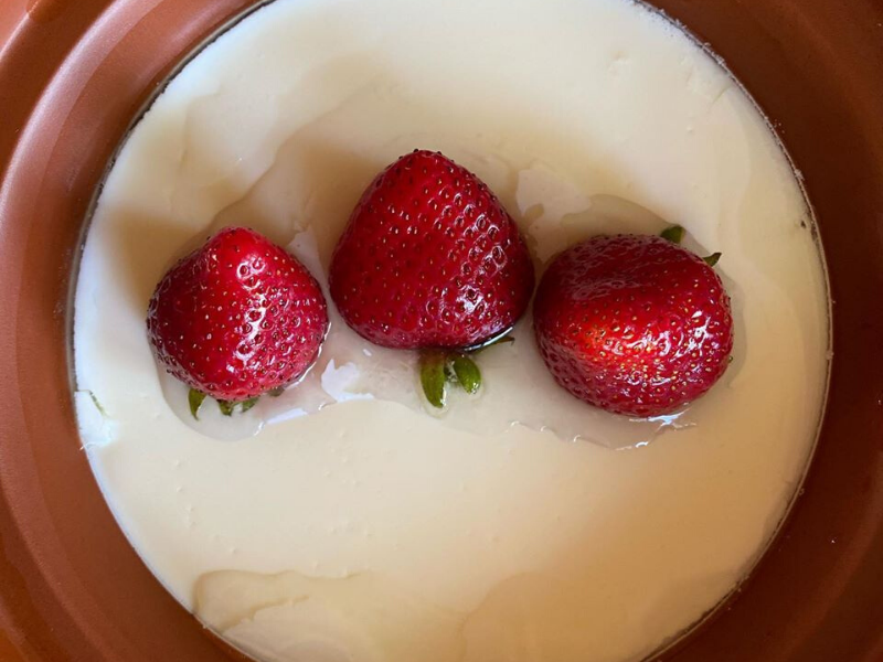 Really Easy Fresh Yogurt Made Overnight with Only Two Simple Ingredients