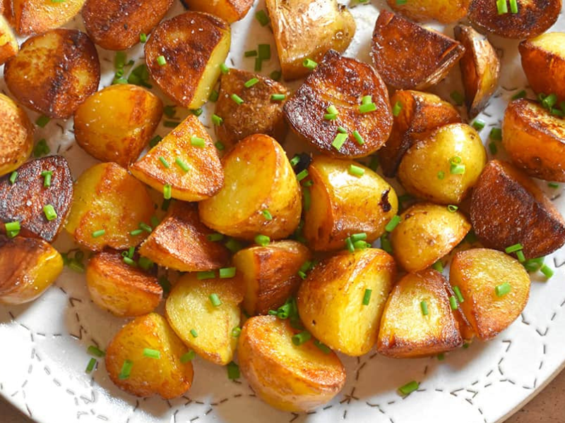 No-Fry Crispy Potatoes from Instant Pot (Pressure Cooker) to VitaClay!