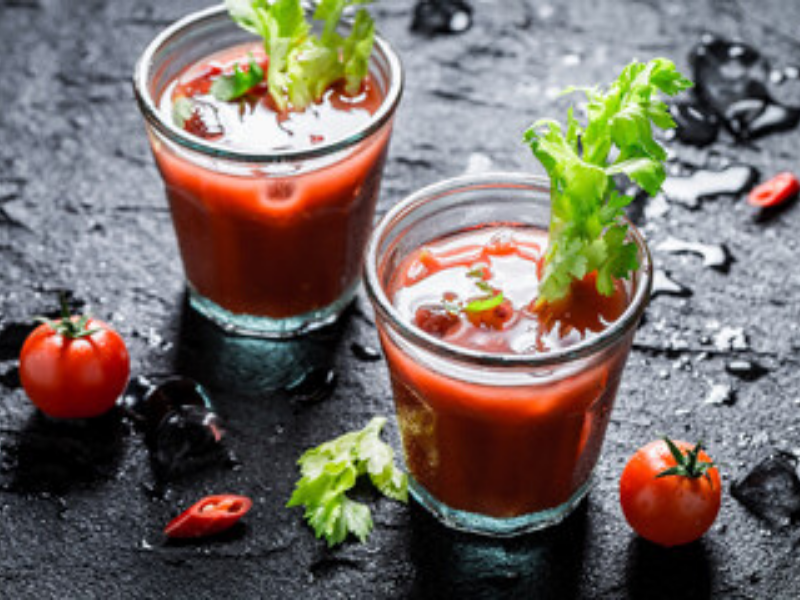 Refreshing Bloody Mary Made With VitaClay's Bone Broth