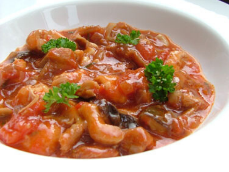 Pressure Cooker Chicken Cacciatore Converted and Made Easy in VitaClay