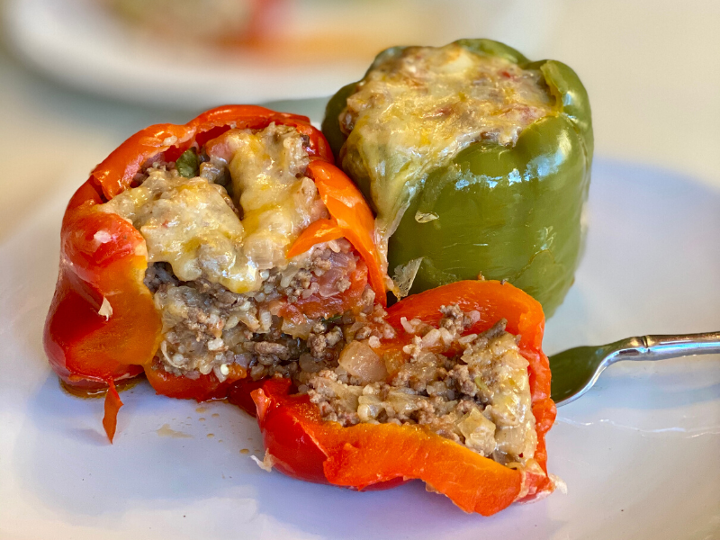 How to Make Stuffed Bell Peppers in Your VitaClay Pot?