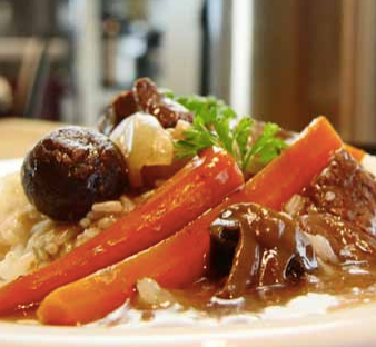 Potato Beef Stew with Carrots