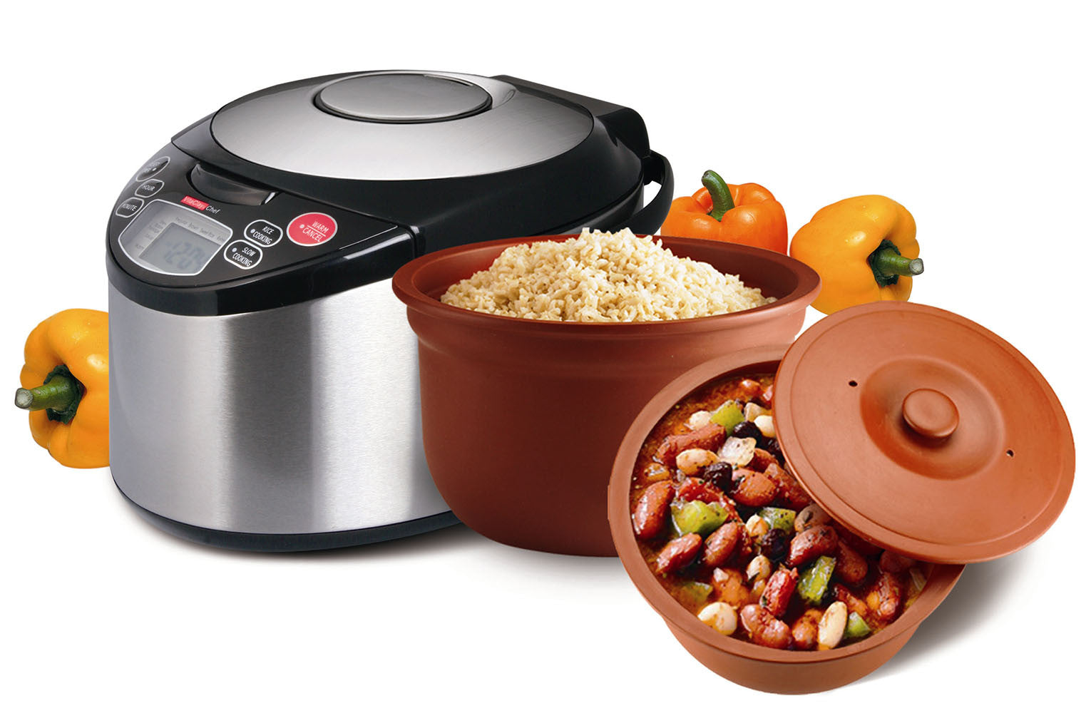 How is VitaClay different from a Pressure Cooker?