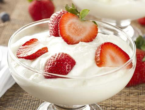 Yogurt Flavored with Fresh Fruits--So Easy with VitaClay!
