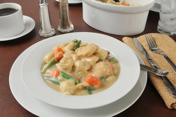 Homemade Chicken & Dumplings Ready Quick with VitaClay!