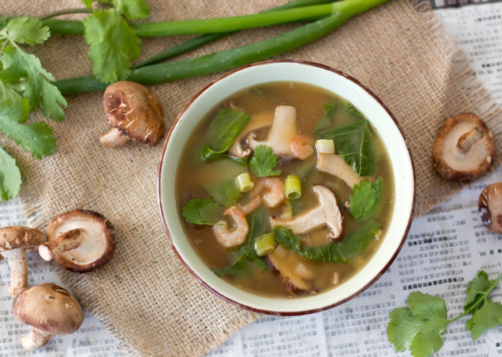Satisfy the Craving: Asian-Inspired Miso Mushroom Soup
