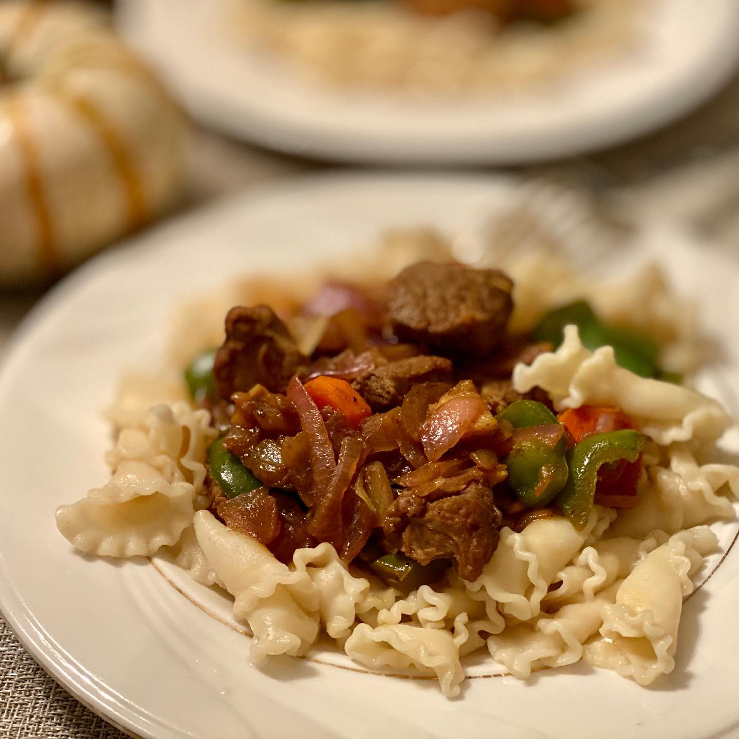 Hungarian Goulash with Campanelle