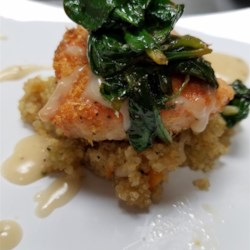 Clay Pot Roasted Salmon with White Wine Sauce: Ready in no time with VitaClay