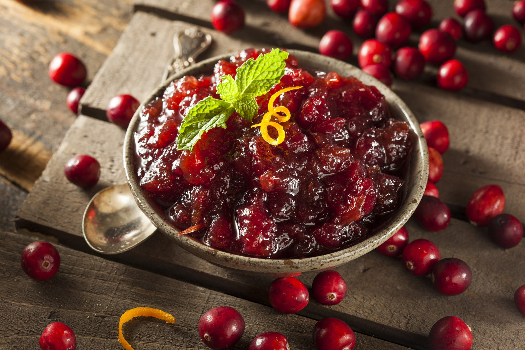 Traditional Cranberry Sauce: Homemade in VitaClay!