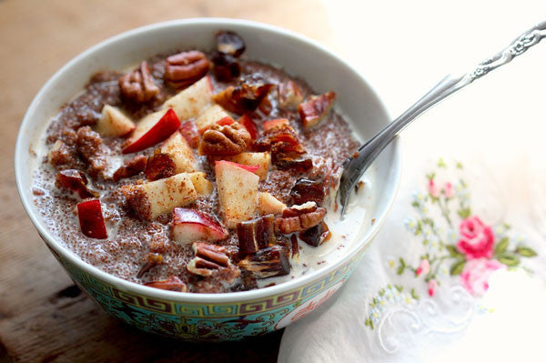 Superfood Teff Porridge Slow Cooked in Clay