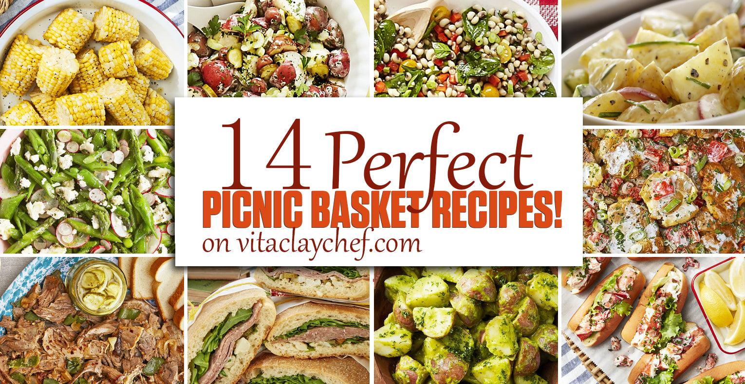 Picnic Food Ideas 14 Perfect Picnic Recipes With Vitaclay