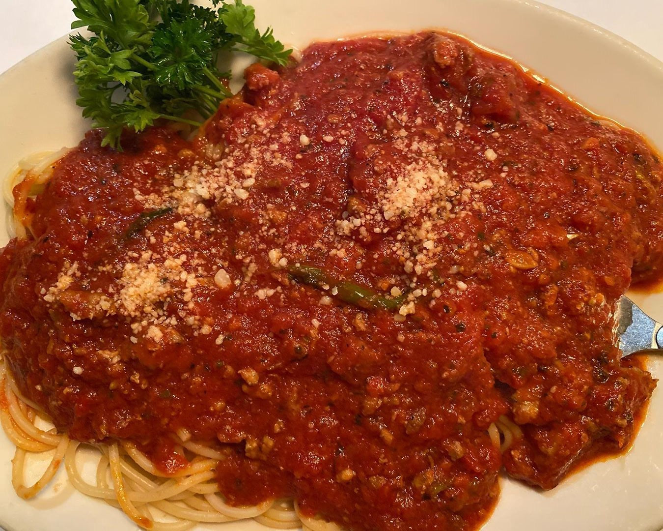 Rich Hearty 30 Minute Spaghetti Bolognese