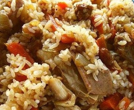 muslim chinese lamb rice cooked in best rice cooker
