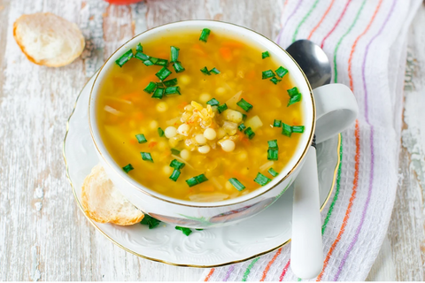 SLOW COOKED MOROCCAN LENTIL SOUP