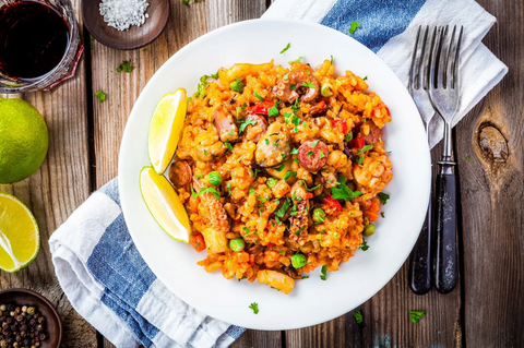 SHRIMP AND SAUSAGE RISOTTO
