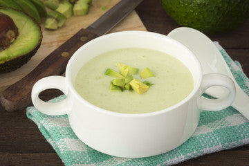 Creamy Avocado Soup In Vitaclay