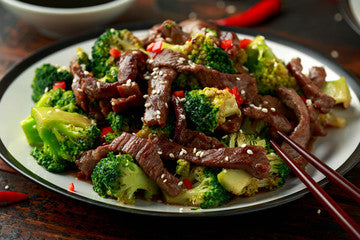 Broccoli Beef in Clay: No More Need for Unhealthy Take-Out