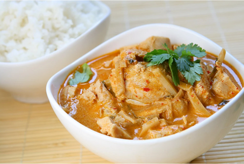 THAI CURRY CHICKEN ONE POT DISH