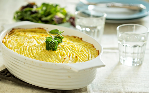 CLAY POT VEGETARIAN SHEPHERD'S PIE IN A JIFFY
