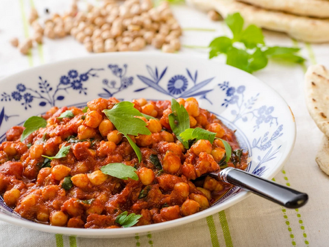 CURRIED VEGETABLE CHICKPEA STEW