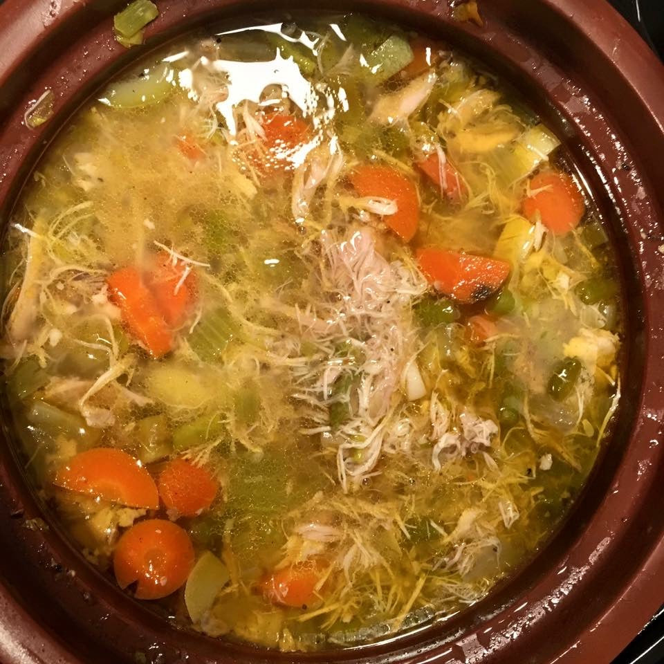 chicken soup vitaclay recipe