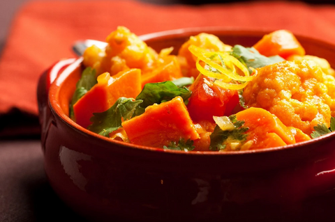 INDIAN COCONUT VEGETARIAN CURRY