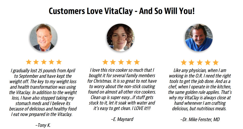 vitaclay testimonial reviews