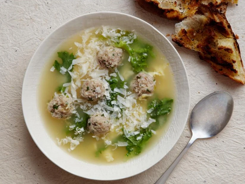 ITALIAN WEDDING SOUP MADE WITH LOVE IN YOUR VITACLAY BEST SOUP MAKER