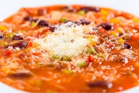HEARTY, AUTHENTIC, TRADITIONAL, ITALIAN VEGETABLE MINESTRONE IN VITACLAY'S BEST SOUP-MAKER