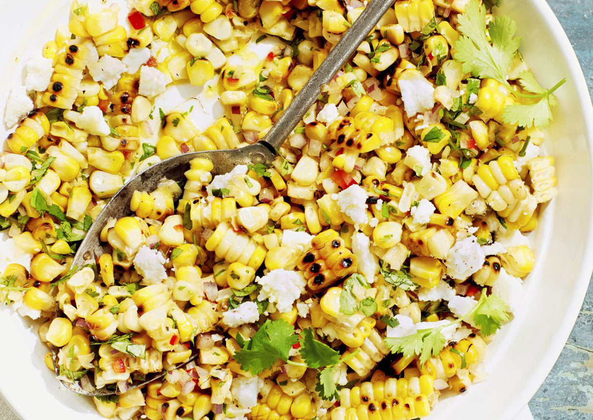 charred corn salad vitaclay recipe