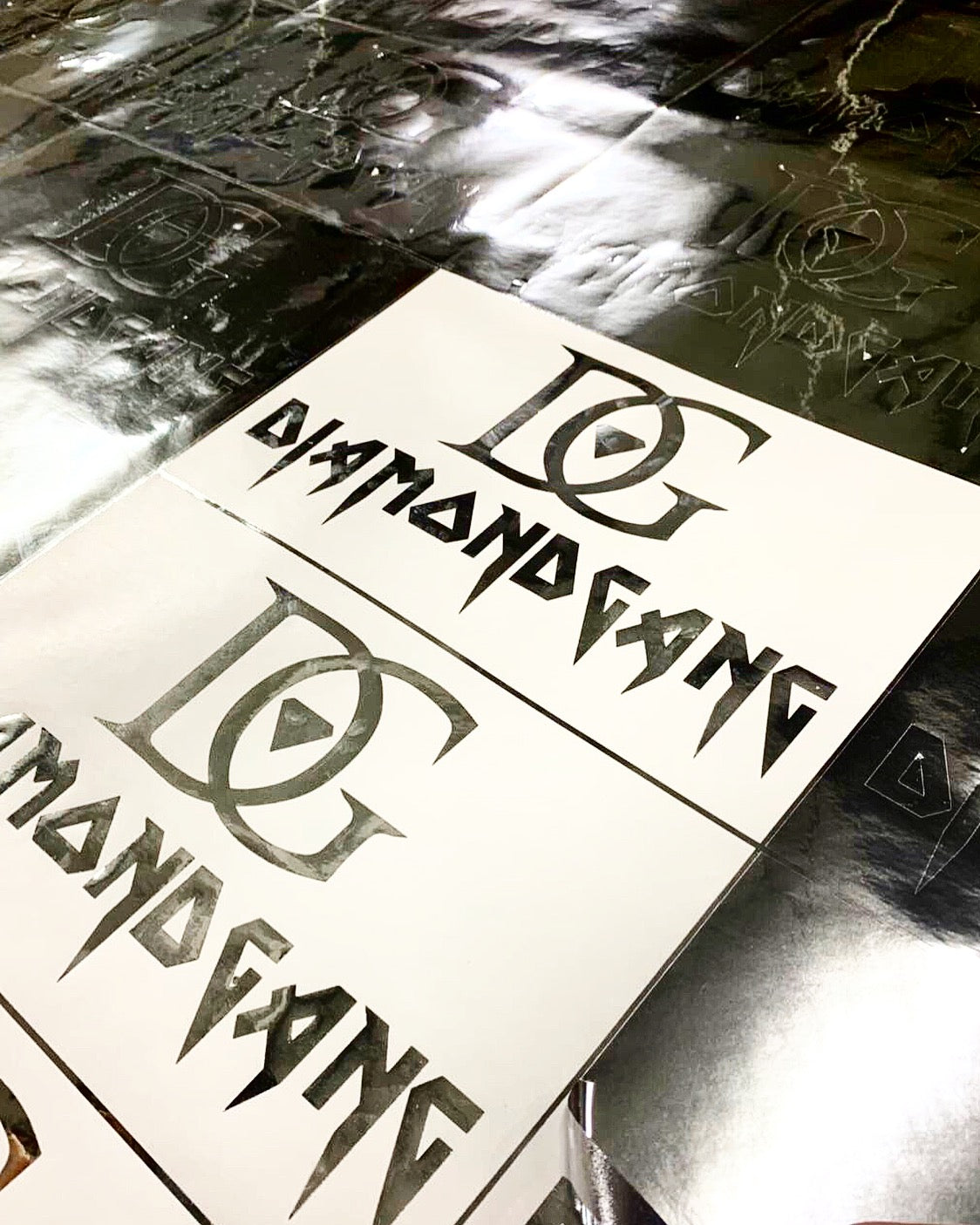 DIAMOND GANG - STICKER