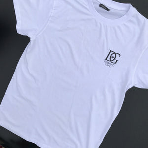 DMDGNG Tee - White-Diamond Gang