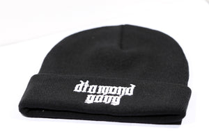 DIAMOND GANG BEANIE - BLACK-Diamond Gang