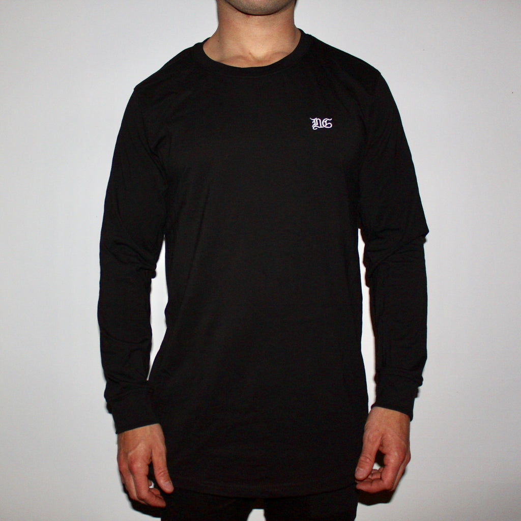 DG LONG SLEEVE - BLACK