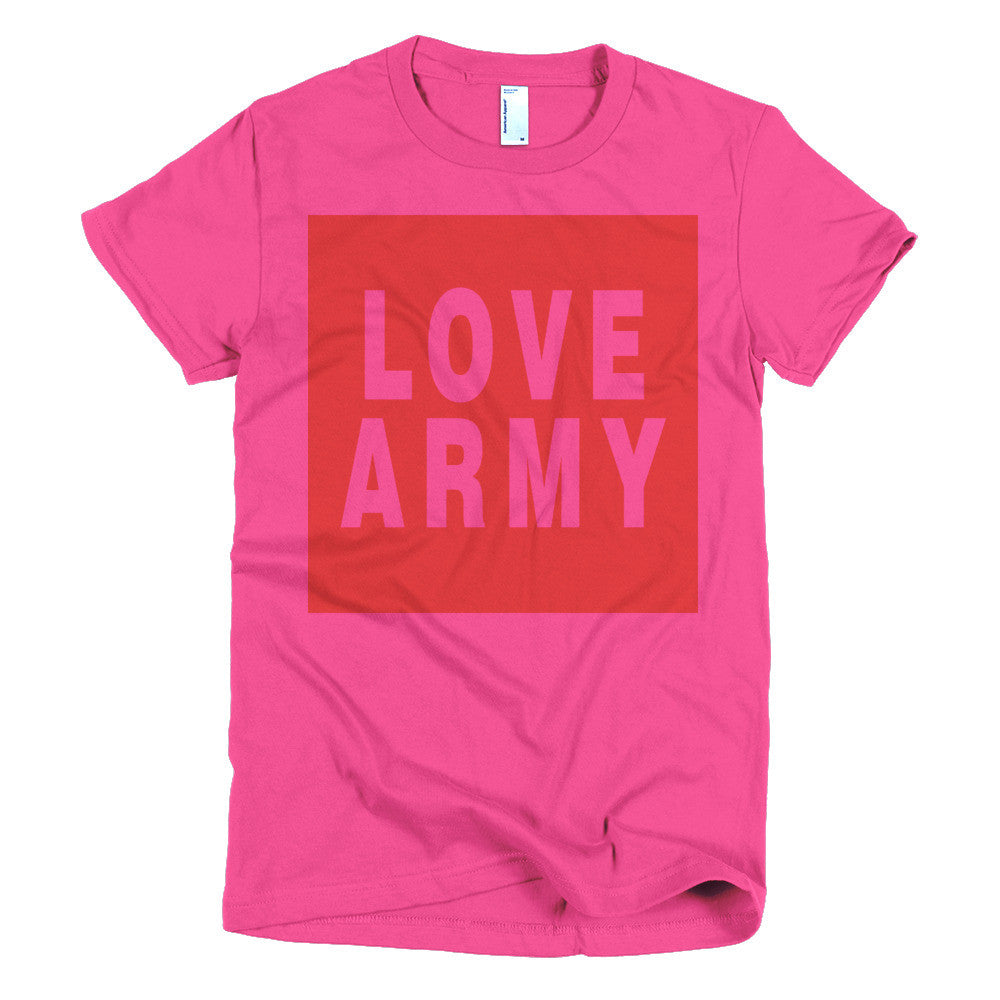 Love Army protest t-shirt- Sm