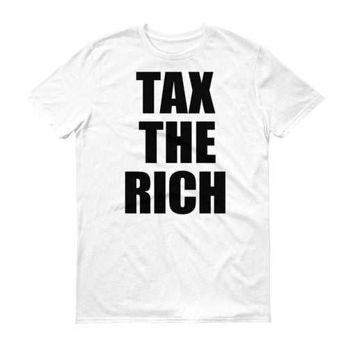 Tax the Rich protest t-shirt