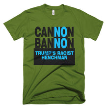 Cannon Bannon protest t-shirt